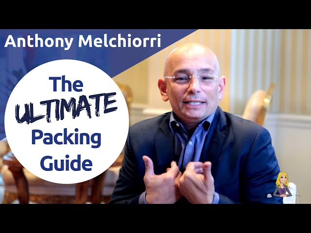 Pack Like a Pro: Anthony Melchiorri