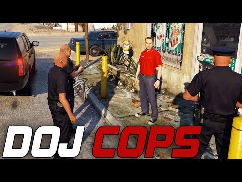 Dept. of Justice Cops #105 - 24/7 Store Robbery (Law Enforcement)