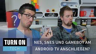 NES, SNES und Gameboy am Android TV anschließen? - TECH - 4K