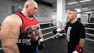 Костя Цзю научил бить Макса / Загонял Новоселова по боксу