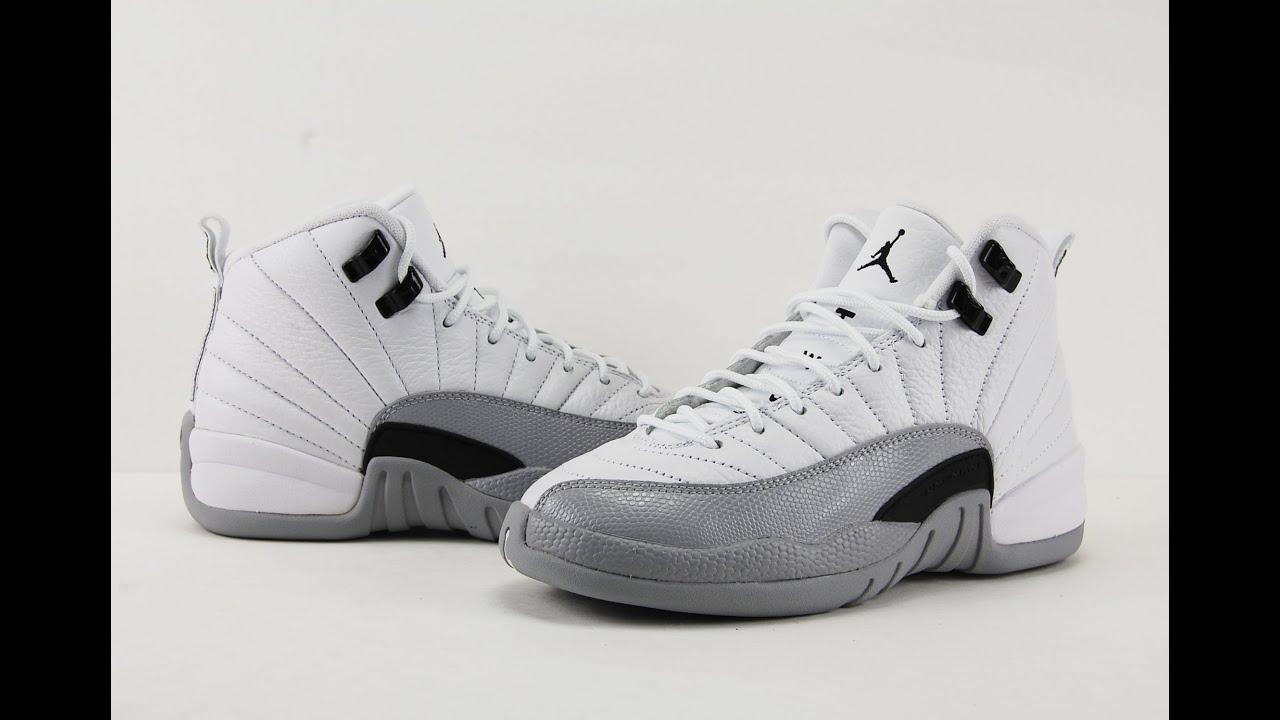 021bc11dfeac Air Jordan 12 Barons Review + On Feet - YouTube
