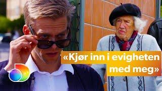 Calle chats up older women | Mandagsklubben | TVNorge