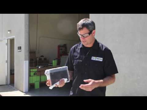 Inside a Lithium Ion Electric Car Battery Cut Open by EV West - Battery for you
