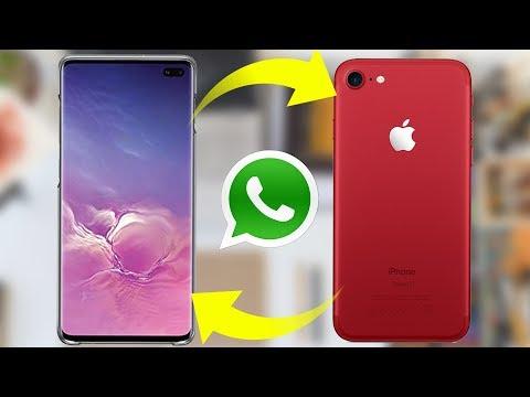Como Pasar WhatsApp De Un Móvil Android A IPhone ó Viceversa