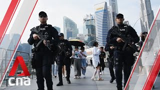 How Singapore police are keeping Marina Bay safe during the New Year's Eve countdown 2019