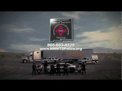 New Mexico Motor Transportation Police -Long Format