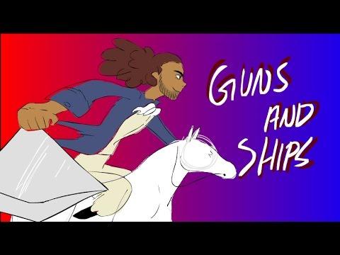GUNS AND SHIPS [ANIMATIC]