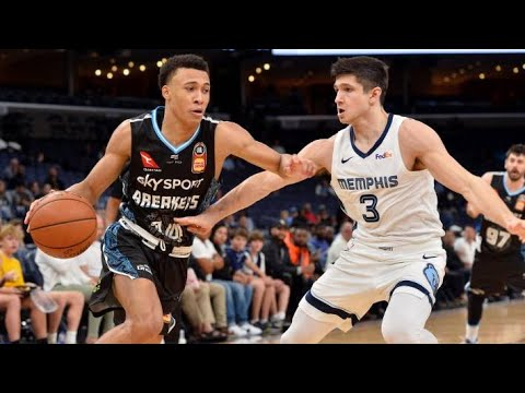 RJ Hampton 2019-2020 Preseason In NBA And NBL Australia