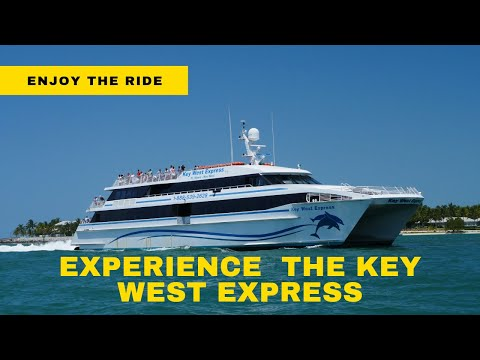 Come Aboard The Key West Express For A Fantastic Experience