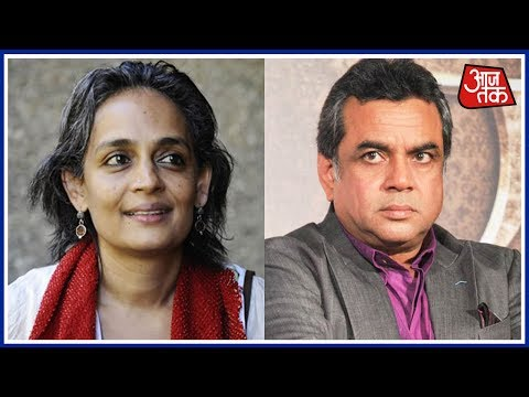 Khabare Superfast: Tie Arundhati Roy To Army Jeep, Says Paresh Rawal