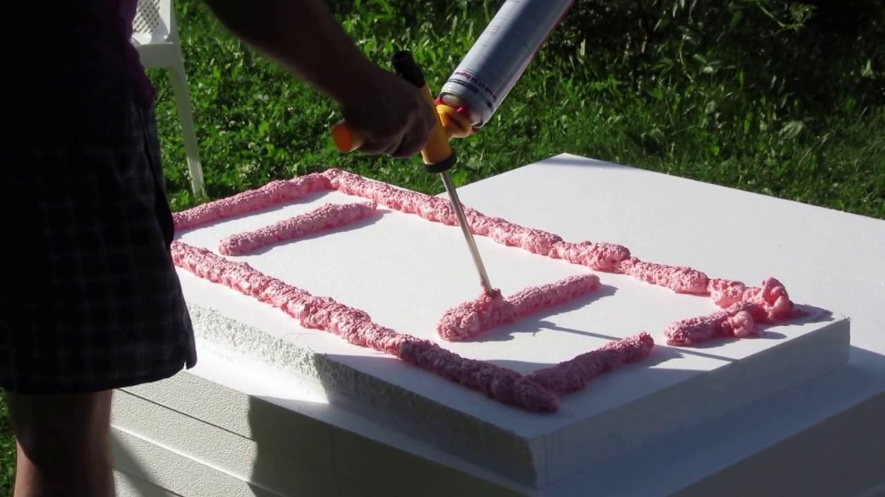 Как приклеить плиты пенопласта, инструкция выполнения работ с .