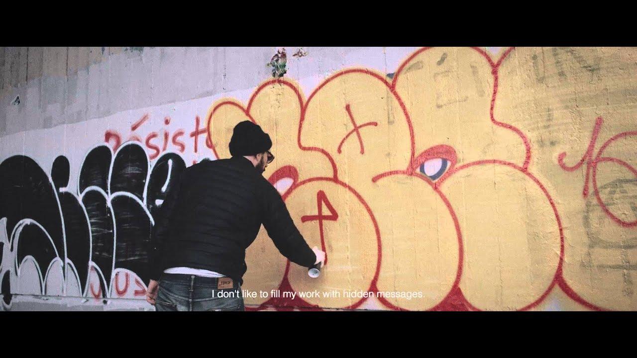 Meet ilk graffiti artist of paris