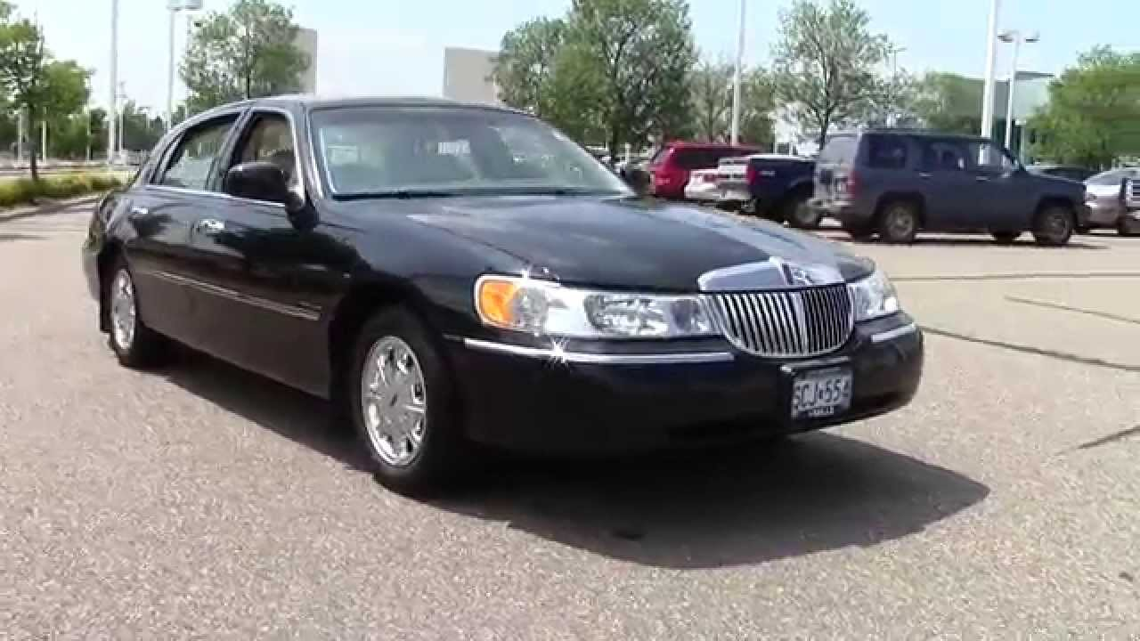 2001 Lincoln Town Car Signature 1u140121a Youtube