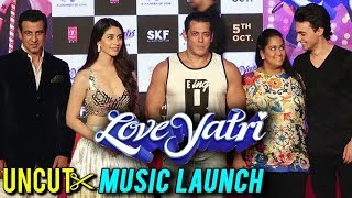 UNCUT - Loveyatri Music Launch Salman Khan, Aayush Sharma, Badshah, Warina Hussain | FULL EVENT