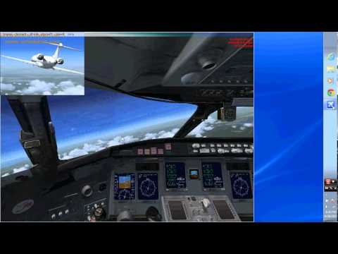 MrGalxyboy flies in Microsoft Flight Simulator X