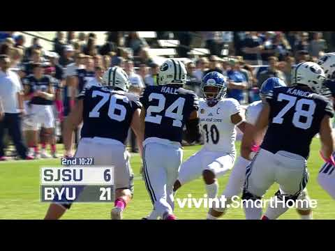 Football - BYU vs San Jose State - Highlights