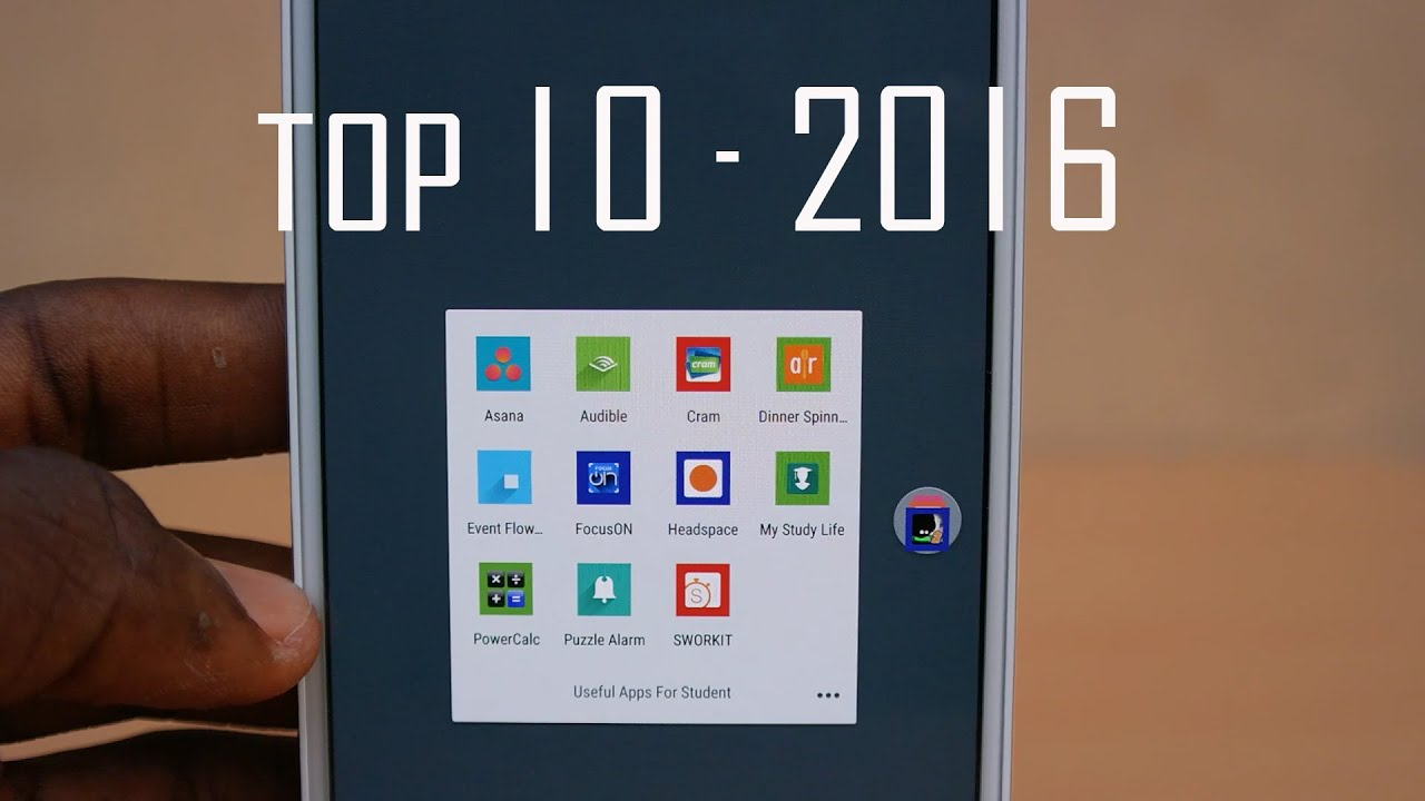 10 Top Apps For Students With Special >> Top 10 Useful Apps For Students 2016 Android Youtube