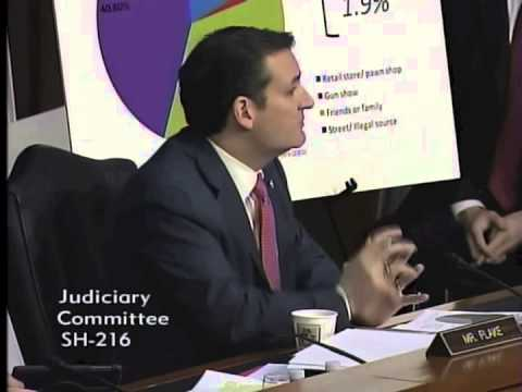 U.S. Sen. Ted Cruz Q&A at Senate Judiciary Committee Hearing on Guns