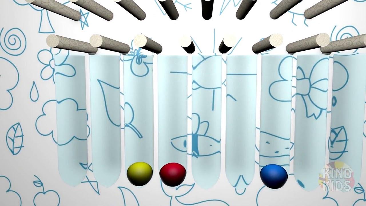 Учим цвета с мягкими шариками на английском языке ! - YouTube