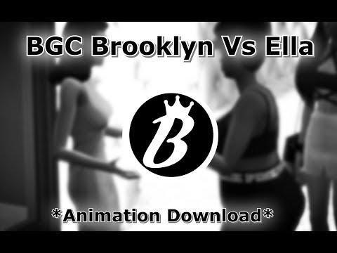 SIMS 4 BGC HLLYWD Brooklyn Vs Ella *Animation Download*