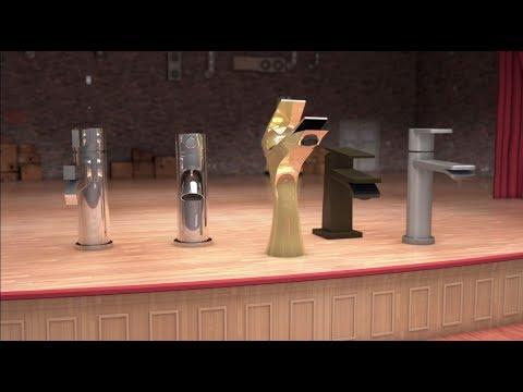 California Faucets | AquaPella: Singing Single-Hole Faucets - YouTube