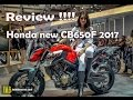 New Honda CB650F 2017 review full HD   IWBVlog