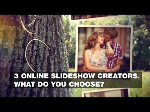 3 online slideshow creators. What do you choose?