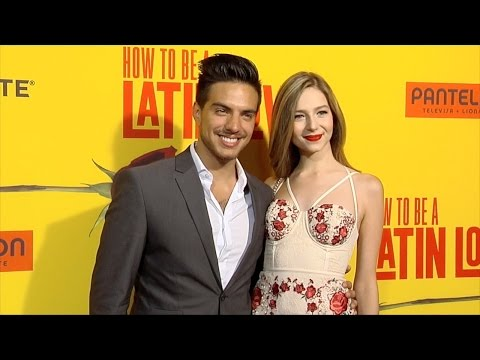 """Vadhir Derbez and Mallory Caballero """"How to Be a Latin Lover"""" Los Angeles Premiere"""