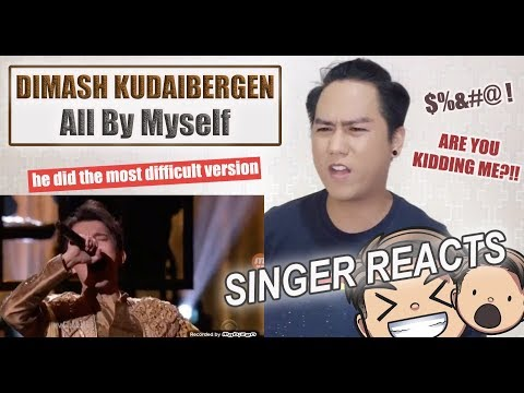 Dimash Kudaibergen - All By Myself [World's Best] | REACTION