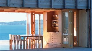 Amazing Shipping Container Homes : Coromandel Beach House, By Crosson Clarke Carnachan Architects