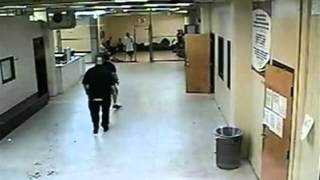 Cook County Illinois Correctional officer caught on video striking inmate