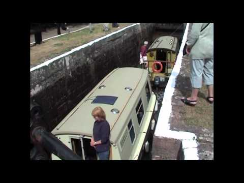 How A Canal Lock Works