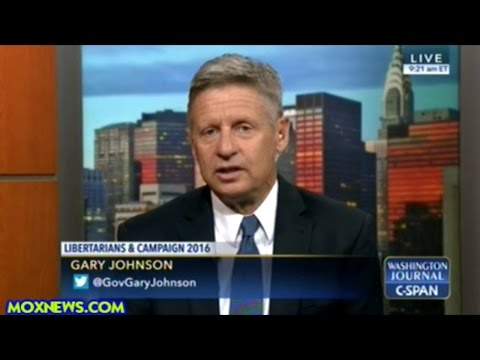 "Gary Johnson ""Gun Control Sounds Terrific BUT! I Think It Makes This Country LESS Safe!"""