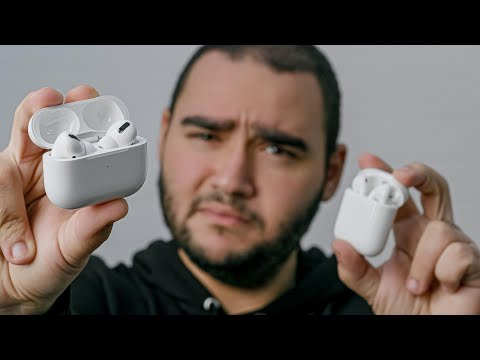 AirPods Pro vs AirPods |