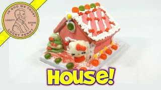 Hello Kitty Holiday Cookie House Kit, Sanrio