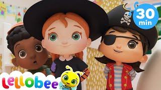 No No Spooky Monsters Song | @Lellobee City Farm - Cartoons & Kids Songs | Preschool Education