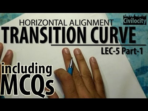 Transition Curves | Highway Engineering | Lec-5 Part-1 | GATE