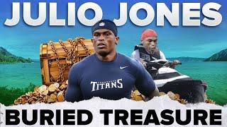 Julio Jones Buried Treasure 🏴☠️    #shorts