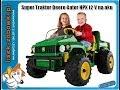 Traktor PEG PEREGO JOHN DEREE HPX 12 V Elektro Spielzeug für Kinder Spielzeugauto