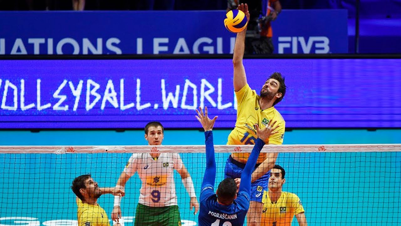 Top 10 Spike Height Volleyball Nations League 2018 Youtube