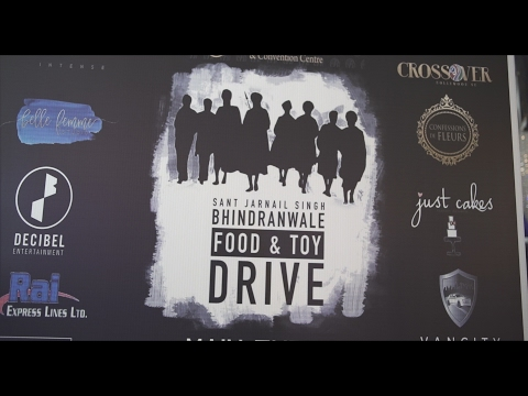 Sant Jarnail Singh Bhindranwale: Food & Toy Drive Documentary #BeTrueCineworks