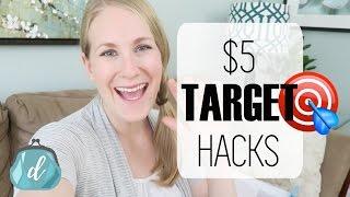 ORGANIZE   $5 Target Haul & Hacks!