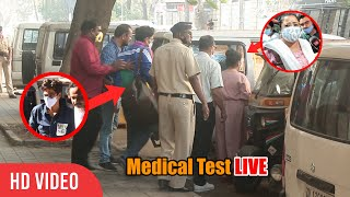 Comedian Bharti Singh And Husband Haarsh Limbachiyaa HIDING Face From Media | Medical Test | LIVE