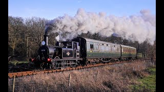 FAREWELL TO 32678 KNOWLE ON THE KENT & EAST SUSSEX RAILWAY - 22nd February 2019