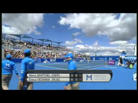 Full Match Replay: Mona Barthel vs Elena Vesnina, Moorilla Hobart International 2013