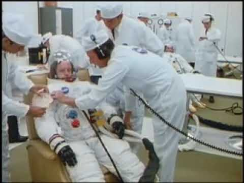 Apollo 11 Astronauts Suit Up - YouTube