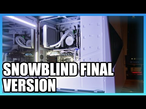 iBUYPOWER Snowblind LCD Side Panel Finally Available