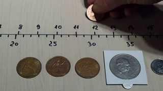 Tesoro Vaquero - Air test - U.K. coins.