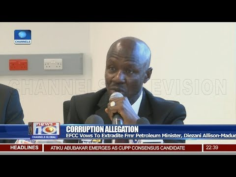 EFCC Vows To Extradite Fmr Petroleum Minister, Allison-Madueke