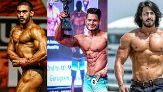 Bodybuilding Motivation - TOP 10 Aesthetic Bodybuilders in India 2016 - 2017